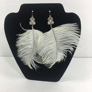 Cubic silver diamond fashion earring